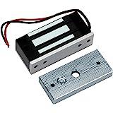 HFeng Elektromagnetische vergrendeling toegangscontrole 60 kg / 132 lbs elektronische magneetsluiting DC 12 V uitvalveilige N