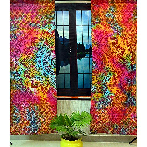indischen Mandala Baumwolle Hippie Tapisserie Tür cutain Decor Gardinen Art Wand