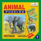 Creative Educational Aids 0701 Animal Pu...