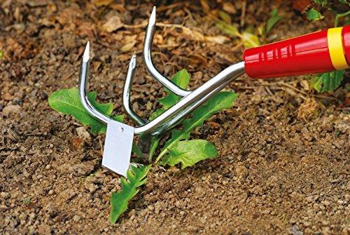 Wolf-Garten LBM multi-change klein cultiweeder Anbau Werkzeug Kopf (Rot Unkraut Hat)