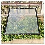 LIANGJUN Telone Telo Copertura Trasparente Impermeabile Isolamento Plastica Parabrezza Asola Balcone Giardino Finestra, 5 Taglie (Colore : A, Dimensioni : 2X3M)