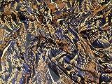 Minerva Crafts Abstrakter Aufdruck Yoryu Chiffon-Stoff