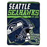 Northwest Seattle Seahawks Super Plush NFL Deck