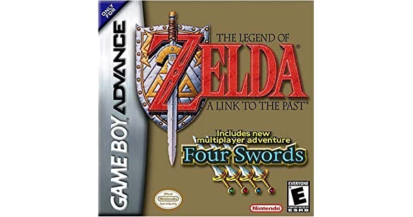 The Legend of Zelda: A Link to the Past - Four Swords (GBA