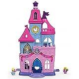 Fisher-Price DRL52Little People Aktivitätsspielzeug Disney Prinzessinnen, Magischer Zauberstab und Palast