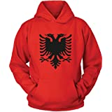 Ringer Retro TS Weiss WM EM Fussball Sport Trikot Look Albania Albanien T-Shirt