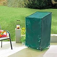 Hochwertige Schutzhülle für bis 4 Stapelsessel 68 x 68 x 100//120 cm Gartenmöbel