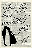 Best Picture Dictionary Evers - Happily Ever After Art Print - Quote Art Review