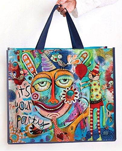 Allen Designs It's Your Party Artistic Shopper Bag by Allen Studio Designs