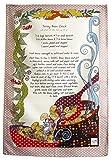 RICETTA DEL CROCK DI JERSEY BEAN STROFINACCIO di MOLLYMAC Bella Cucina Home Decor. Grazie a te regalo, Matrimonio, Compleanno, salvietta Natalizia. Panno di Cucina Colorato Canovaccio. - Made in United Kingdom - 100% cotone - 71 x 46 mm - Jersey Bean Crock Recipe