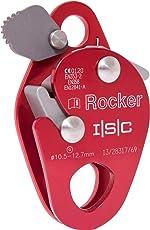 Mitlaufendes Auffanggerät ROCKER von ISC Wales Farbe Rot