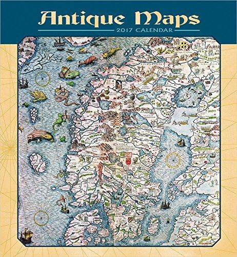 Antique Maps 2017 Calendar