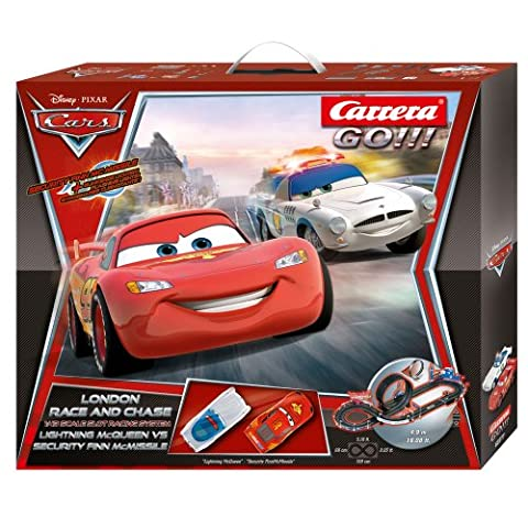 Carrera 20062277 - Go - Disney Cars London Race und Chase