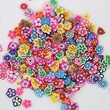 Pegatinas decorativas para uñas x 1000. Nail art 3D, rodajas de frutas y flores