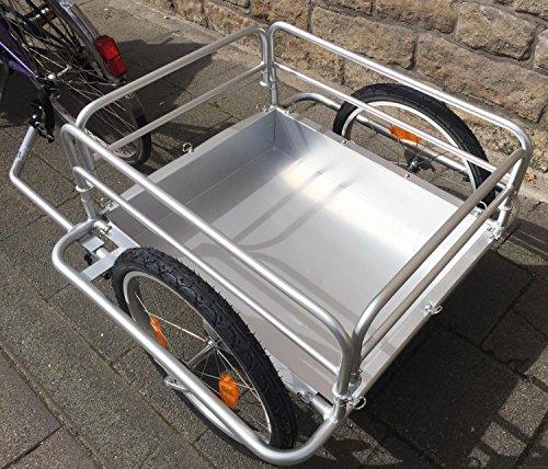 Red Loon Cargo Fahrrad Anhänger Transportanhänger Alu Felgen 144 l extrem leicht - 3