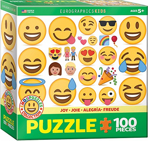 "Eurographics ""Emoji-Joy Puzzle (100, Mehrfarbig) Preisvergleich"