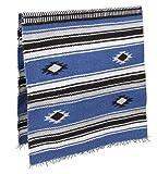 Kerbl 32958 Satteldecke Navajo, 150 x 75 cm, blau