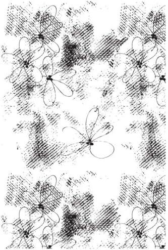 Julie Julie Julie Nutting Mixed Media Cling Rubber Stamps-Floral Texture Background 4 X6  | Design professionale  | Design lussureggiante  | Nuove Varietà Vengono Introdotti Uno Dopo L'altro  4e9611