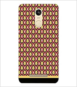 PrintDhaba Pattern D-1659 Back Case Cover for XIAOMI REDMI NOTE 3 PRO (Multi-Coloured)