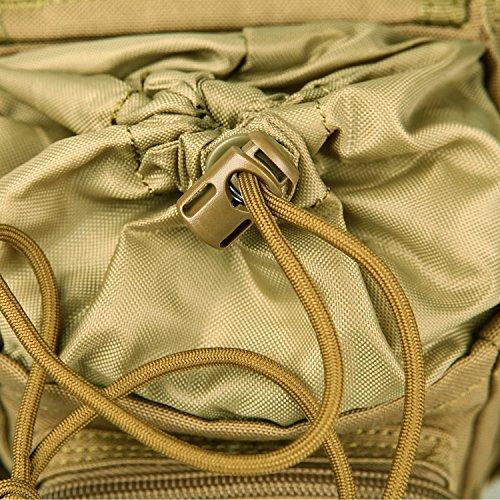 Seibertron Mode Hüfttasche Outdoor Reisen Sport Taktische Airsoft Militär Tropfen Bein Schenkel Bag Dienstprogramm Gürtel Tasche Gürtelbefestigung leg bag Khaki