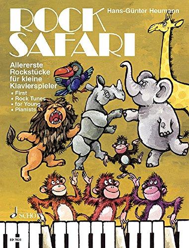 Rock Safari: Allererste Rockstücke für kleine Klavierspieler. Klavier. (Easy Piano Music)