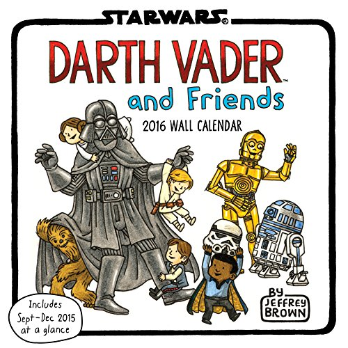 Darth Vader and Friends 2016 Calendar