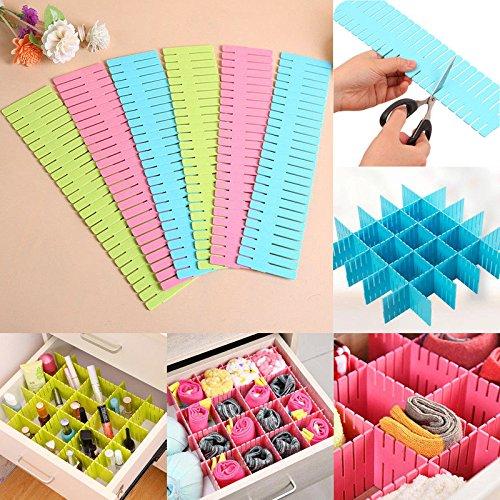 Best Quality - Storage Drawers - new adjustable drawer organizer home kitchen board divider makeup storage grid - by JAKE - 1 PCs