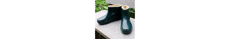 El invierno frío y caliente botas de lluvia dama Zapatos botas antideslizantes cocina agua de lavado de cabello... -