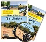Motorrad-Touren Sardinien. Reiseführer inkl. 140 Min. Film und GPS-Daten auf DVD und 1 Straßenkarte 1:200 000 mit allen eingezeichneten Routen - Georg Laa, Beate Thierbach