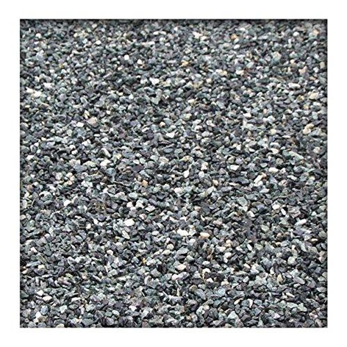 Kieskönig 25 kg Marmor Fugensplitt 1-3 mm für dekorative farbige Pflaster- oder Plattenfugen Grün
