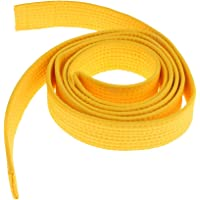 8 Couleurs Ceinture Taekwondo Arts Martiaux en Polyester-Coton Surpiquée Multiples Rangées Couture Super Epaisse Robuste…