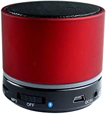 Lambent Mini Bluetooth Wireless Speaker for All Smartphone-Red Colour