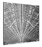 artboxONE Alu-Print 60x60 cm Hangar von Künstler Jan Heine