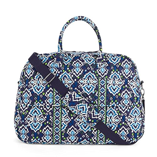 vera-bradley-grand-traveler-ink-blue-duffle-luggage-suitcase-bag