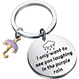 BLEOUK Prince Song Lyrics Inspired Gift I Only Want to See You Laughing in The Purple Rain Prince Fans Gift