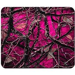 Back Woods rojo camuflaje alfombrilla de ratón de Redeye Laserworks
