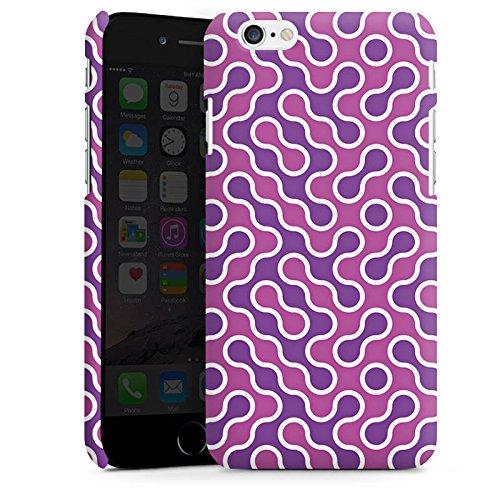 Apple iPhone 6 Housse Étui Silicone Coque Protection Lilas Rose vif Motif Cas Premium mat