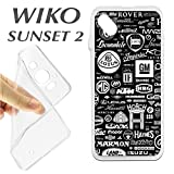K237Case Wiko Sunset 2Soft Gel TPU Brands of Cars Autos Spare Parts