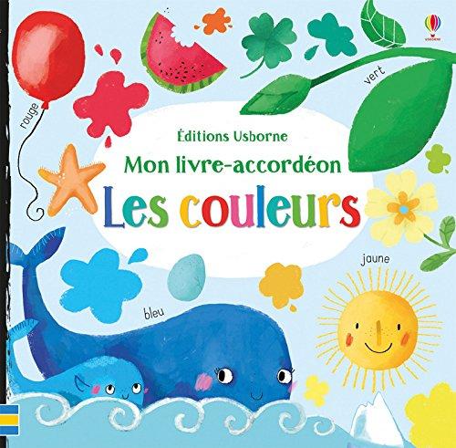 Mon livre-accordéon - Les couleurs