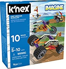 K'NEX Imagine - Beginner Fun Fast Vehicles Building Set - 96 pieces - Ages 5+