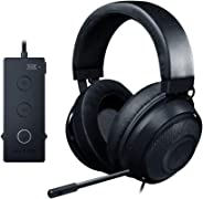 Razer Kraken THX 7.1 Surround Sound Gaming Headset: Aluminum Frame - Retractable Noise Cancelling Mic - USB DAC Included - F