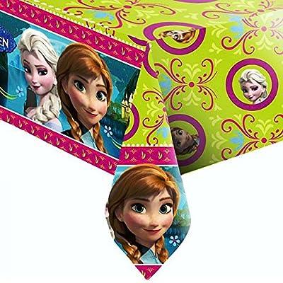 Disney Frozen Frozen-fiesta cumpleaños Mantel lavable, 120x 180cm de Procos S.A.
