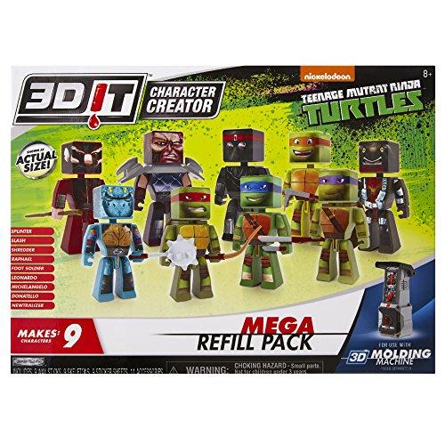 3dit-teenage-mutant-ninja-turtles-mega-refill-childrens-craft-kit