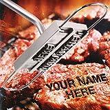 Uten Stainless Steel BBQ Grill Brandeisen Buchstaben Grillzubehör Zange Werkzeug Tool Burger Steak