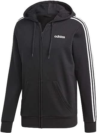 adidas Mens' Essentials 3-stripes Full Zip Hooded Tracksuit Jacket