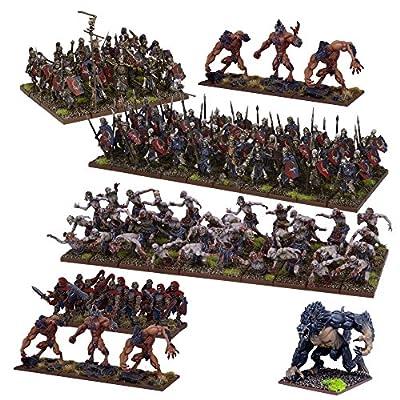 Mantic Jeux Mgkwu111Undead armée, Multicolore