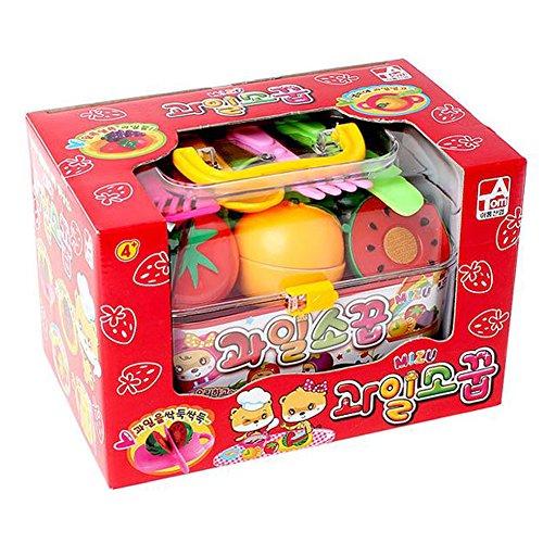 Pique-Nique Jeu Set Cuisine Alimentaire pour Les Coupe Jeu Alimentaire Cuisine Jouets Jouet éducatif Jouet de Cuisine Fruits à Découper en Jeu D'imitation Pour Bébé Fruits