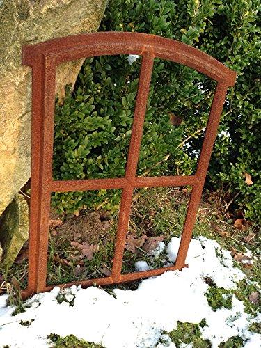 Antikas | Sprossen-Fenster Oskar | Eisenfenster | 50 x 34 cm | Für Gartenhaus Oder Stall