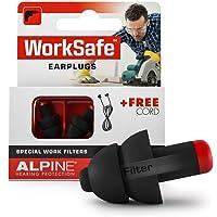 Alpine WorkSafe Tappi Auricolari - Protezione Per L'Udito Per Il Fai-Da-Te ed il Lavoro - Tappi da lavoro - Corda di…