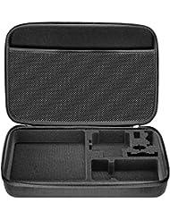 Neewer EVA 32,5x21,5x6,3cm Housse Etui Anti-Choc pour GoPro Hero Session / 5 Hero 3 3+ 4 5 SJ4000 5000 AKASO VicTsing APEMAN WiMiUS Rollei QUMOX et Accessoires (Noir)